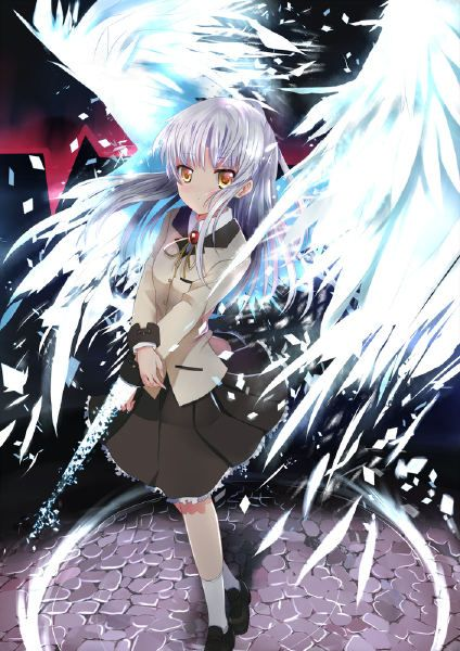 home decor japanese anime wall scroll anime poster angel beats 24 rh pinterest com