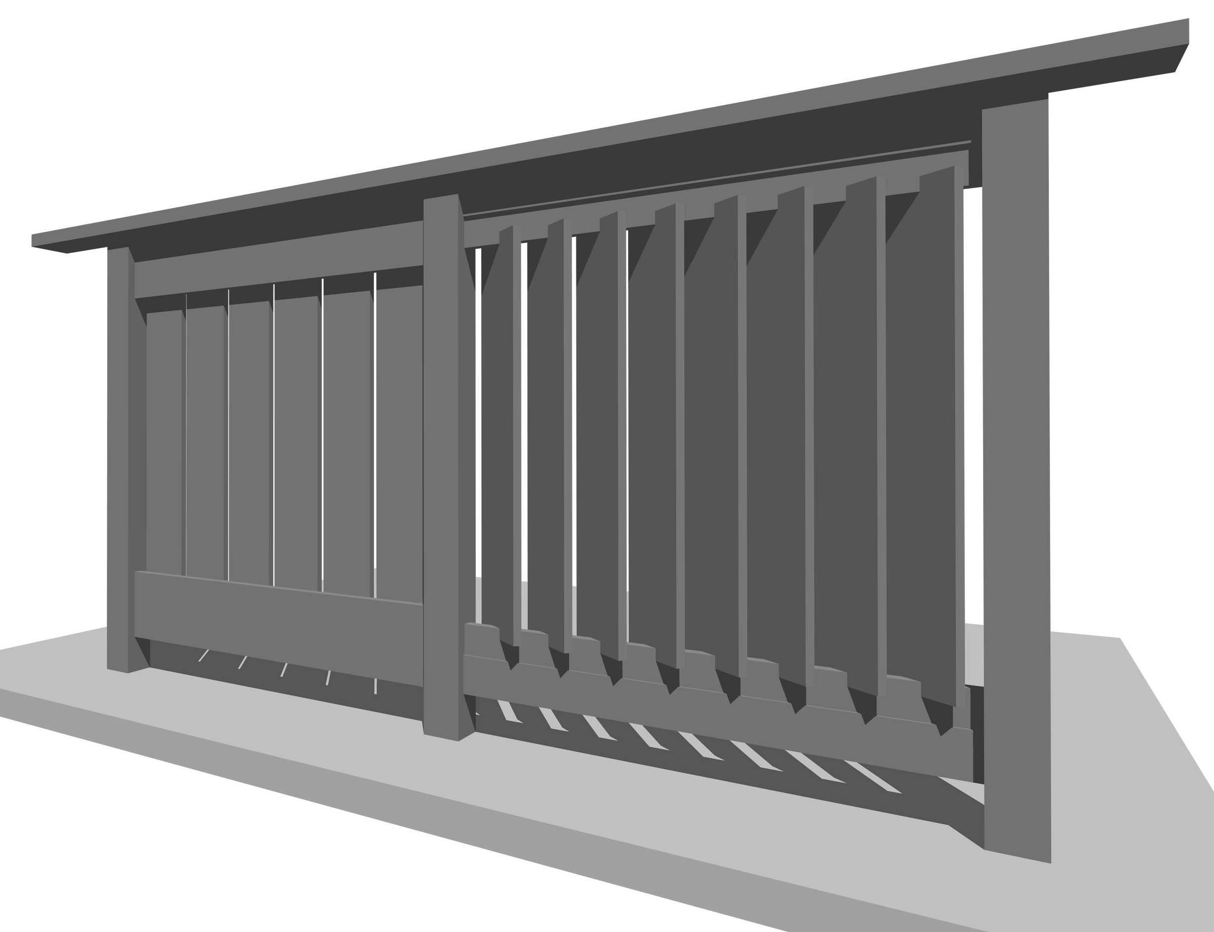 Best Wood Angled Fence Google Search Railing Design Deck 400 x 300