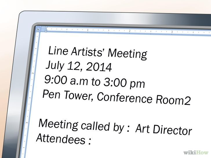Write an Agenda for a Meeting BUSINESS Pinterest Meeting