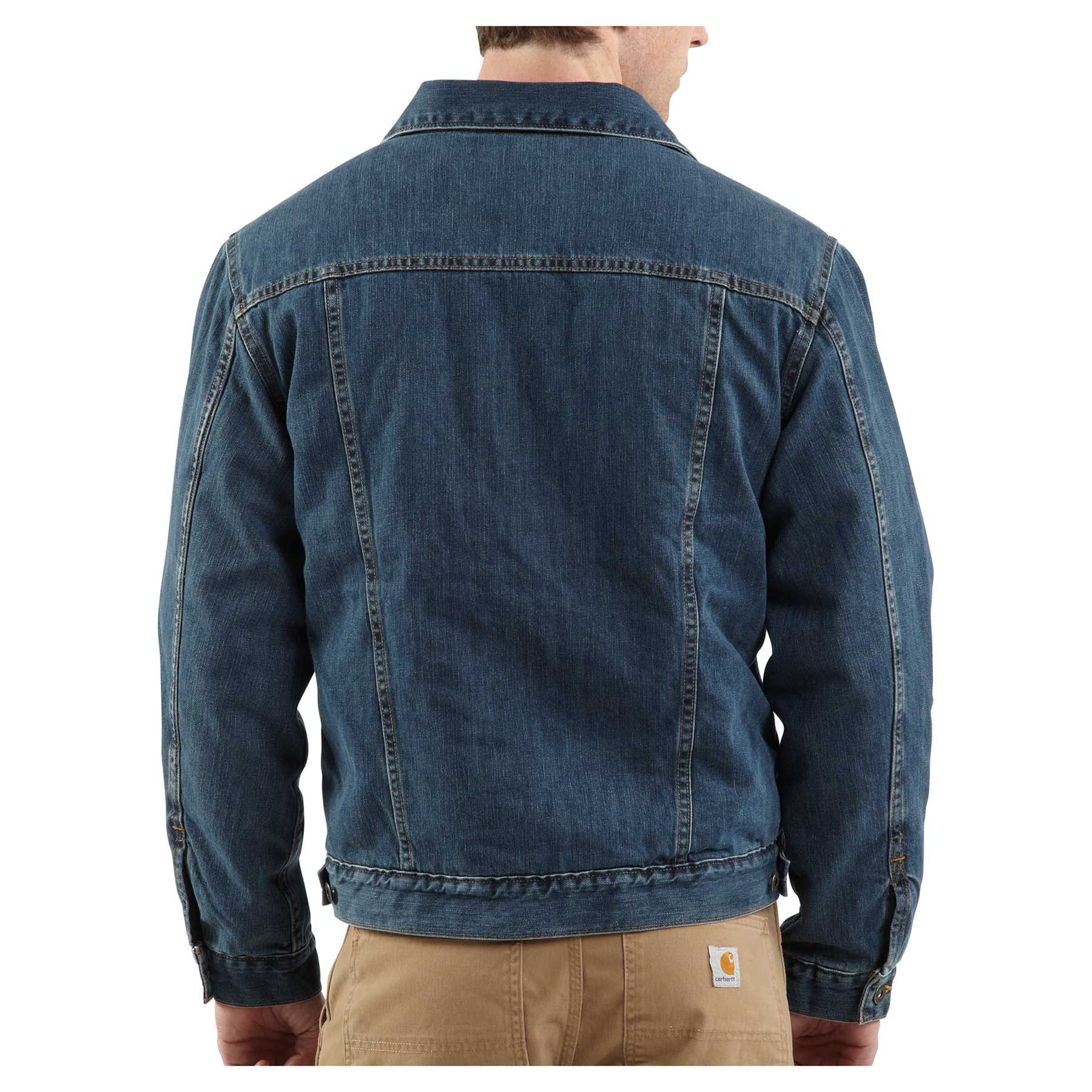 Jean Jacket Back - JacketIn