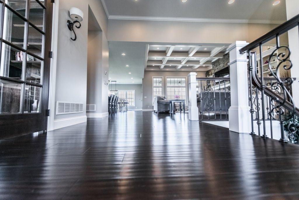 Coffee Handscraped Solid Strand Bamboo Floor Hardwood Floors Strand Bamboo Flooring Grey Hardwood Floors