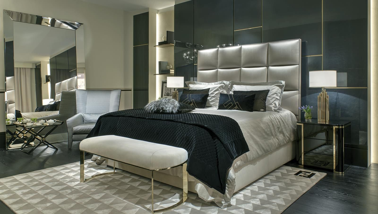 Fendi Casa Notte, sogni d\'oro, by Luxury Living Group ...