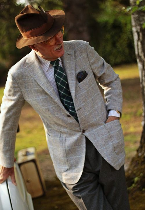 Luciano Barbera, one of the most stylish men I have ever seen.  Bravo!!