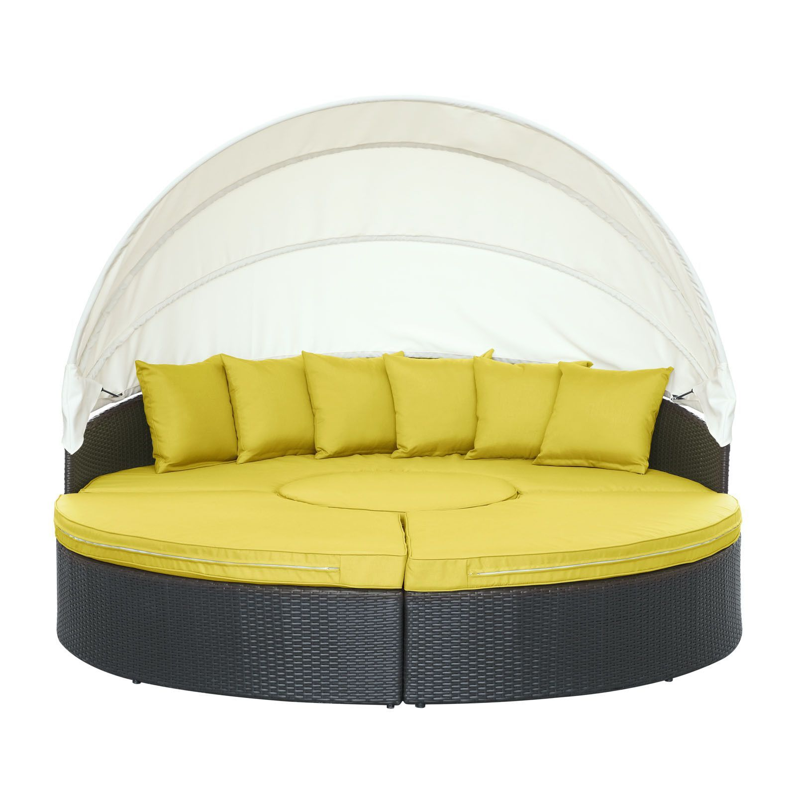 shade canopy daybed for the home outdoor daybed patio daybed rh pinterest com