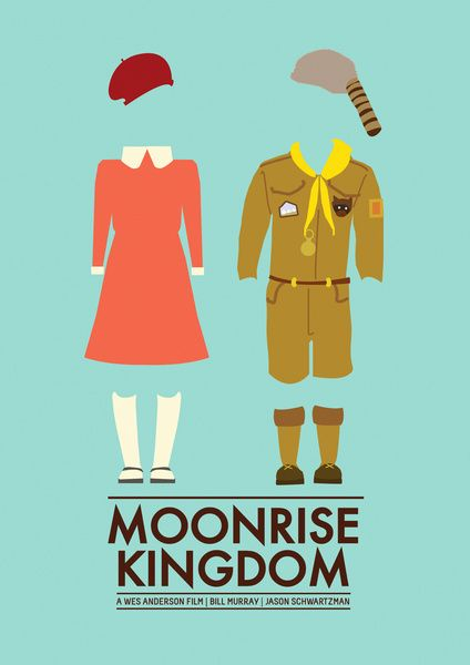 "Moonrise Kingdom Poster Art Print   ""Susie in moonrise kingdom is my make up idol. Love this poster."" - Jessie"