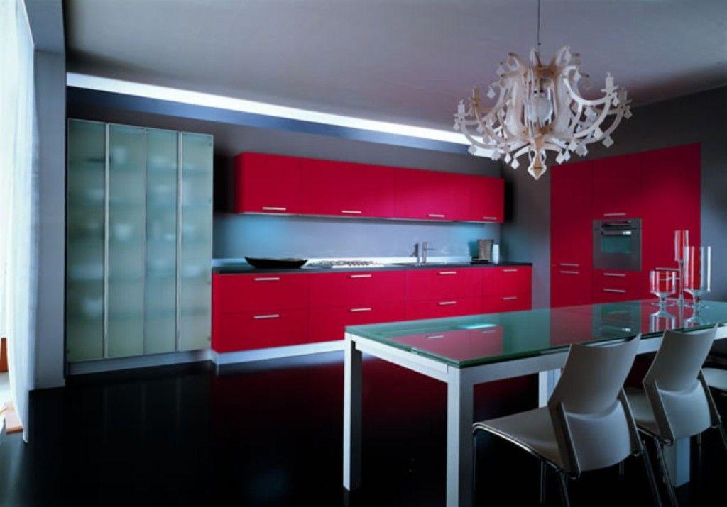 red kitchen design ideas errebi srl red kitchen interhomedesigns rh pinterest com