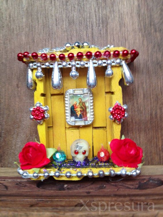 Holy Family Day of the Dead Miniature Shrine / Dia de los Muertos ...