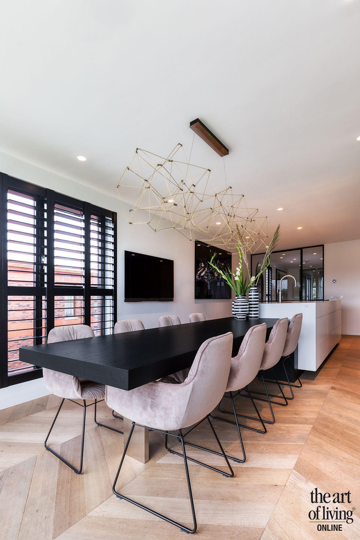 Penthouse met warm interieur