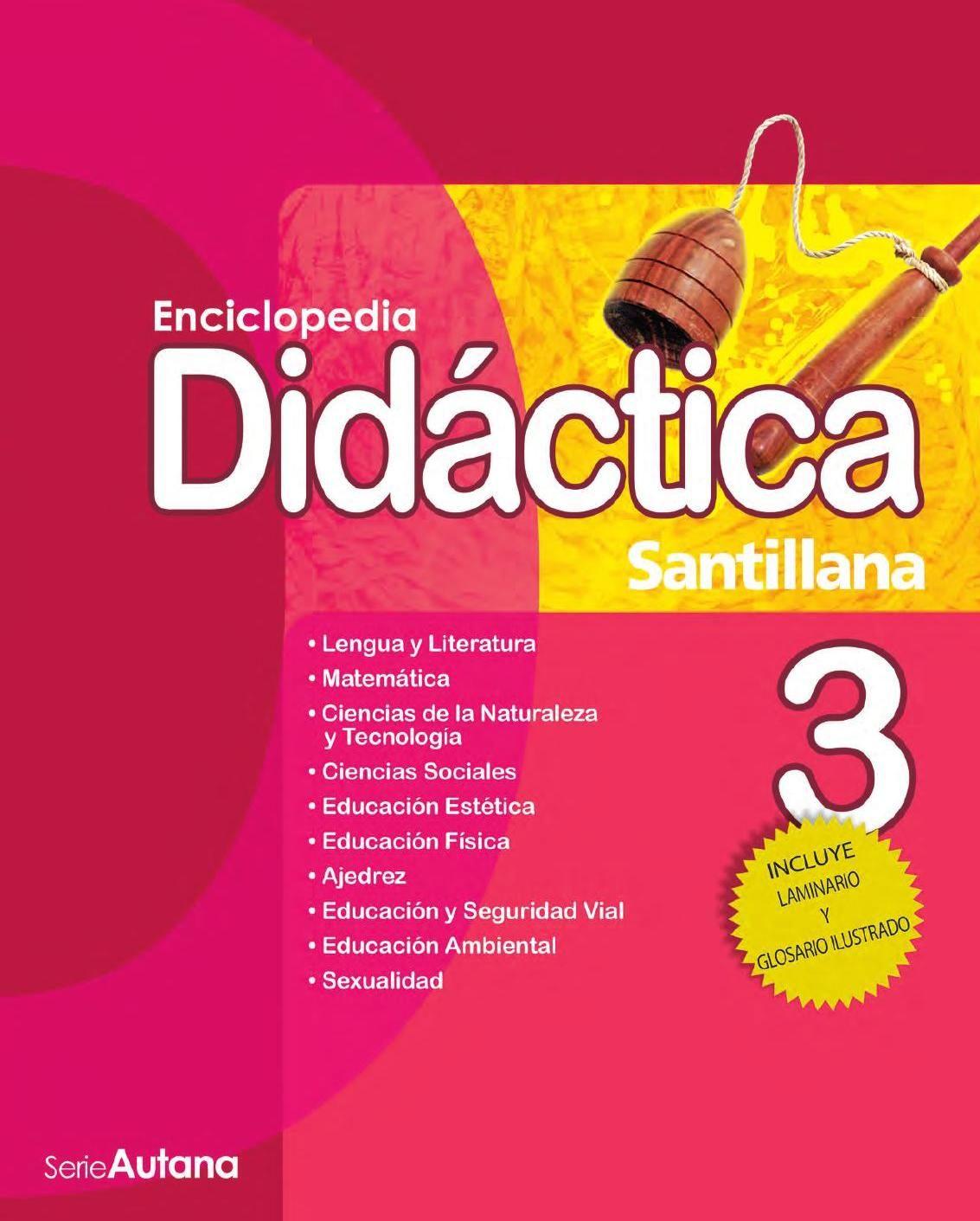 Enciclopedia Didáctica 3 Santillana Education Make It Simple Books