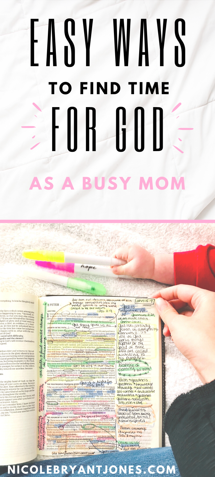 How to find time for God as a new parent in 2020 Busy