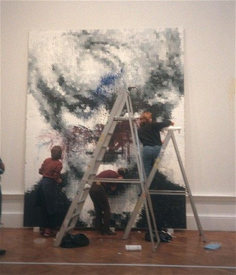 when art gets vandalised painting art museum examples of art rh pinterest com