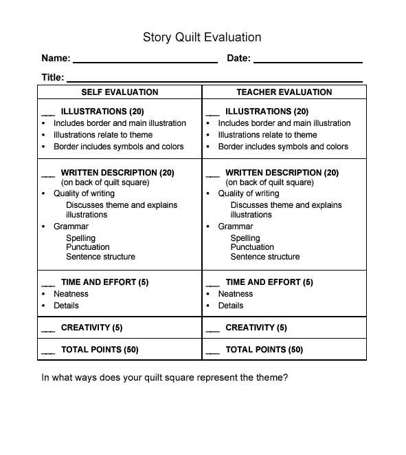 Student Evaluation Forms Foods Lab Evaluation Form Foods Lab - student evaluation forms