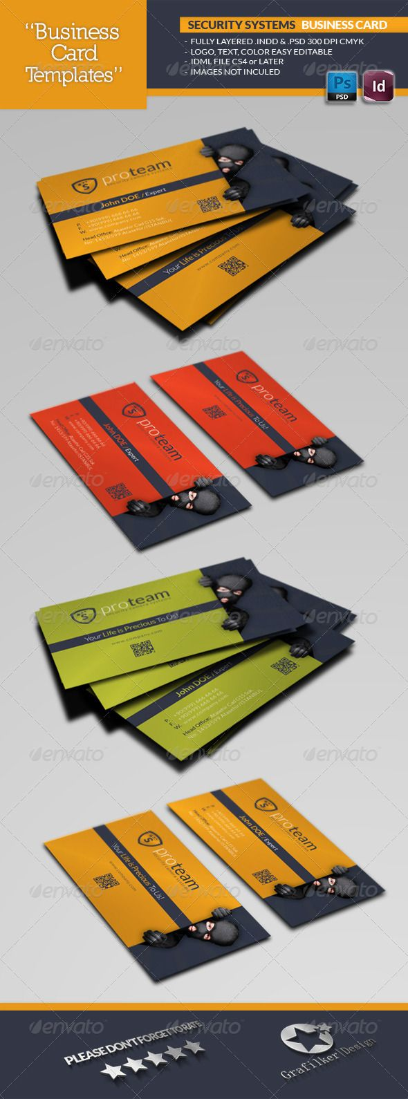 Security systems business card template security systems card security systems business card template graphicriver security systems business card template fully layered indd fully layered psd 300 dpi cmyk idml format reheart Image collections