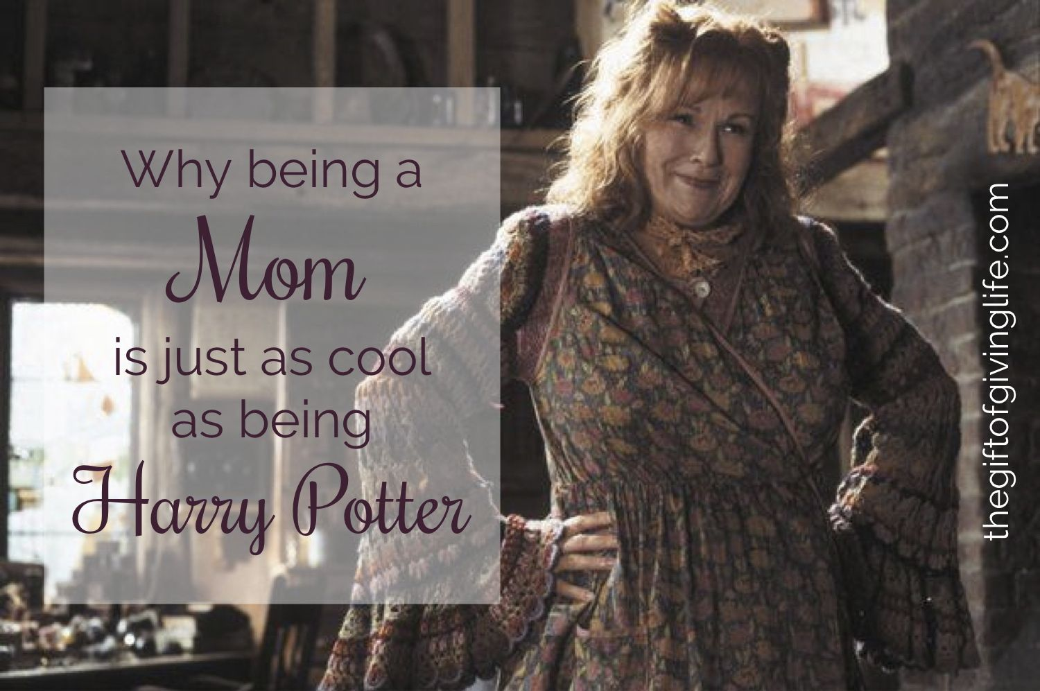 Why being a mom is just as cool as being Harry Potter