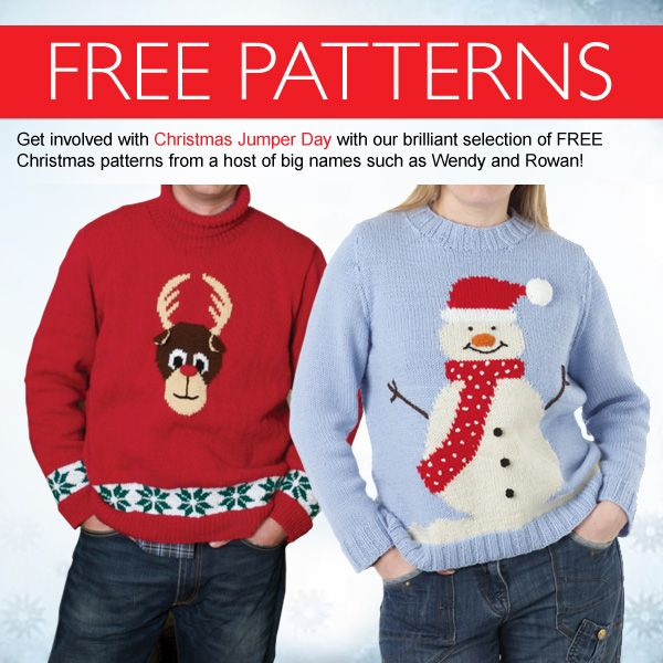 d130998bccb Head on over to our website to download a brilliant selection of FREE  Christmas jumper patterns for Save the Children s amazing Christmas Jumper  Day!