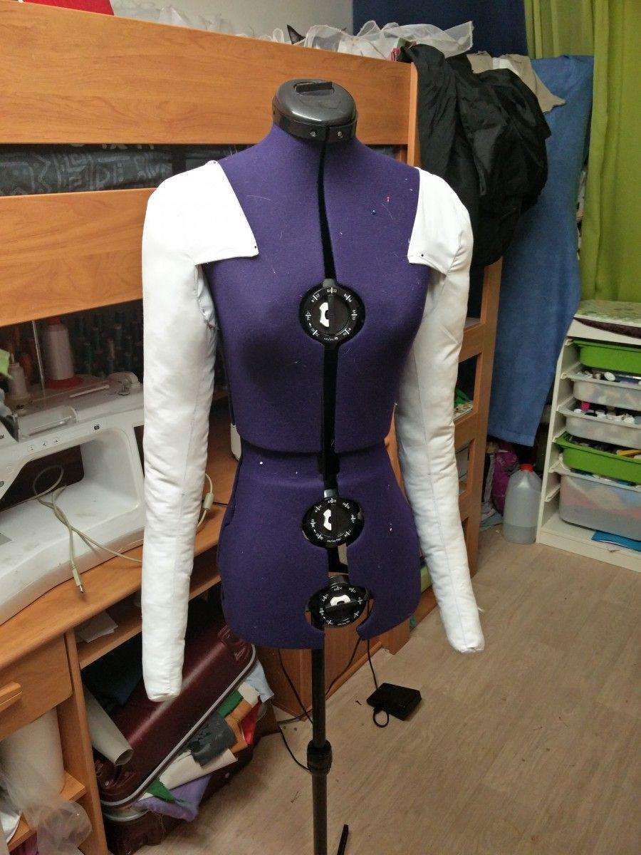 Comment réaliser un bras rembourrer pour votre mannequin de couture ... 4b1817e1572d