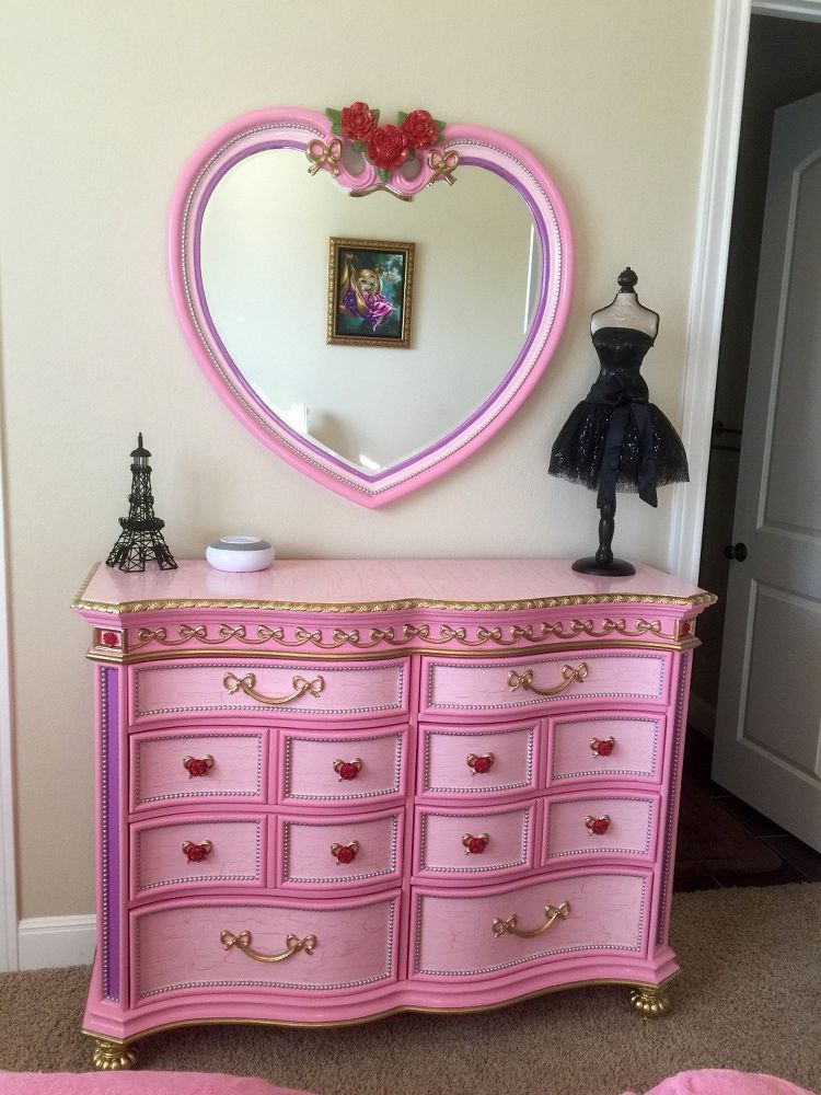 Disney Princess Furniture Redo