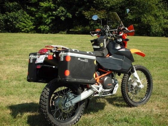 434ab584415 KTM 690 Enduro Adventure - Some of the modifications include a comfort  seat