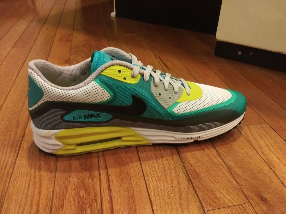 2b26d314fabd Nike Air Max 90 Lunar90 Blue Gray Size 14 Left Shoe Only Lunarlon One Shoe  Only  fashion  clothing  shoes  accessories  mensshoes  athleticshoes (ebay  link)