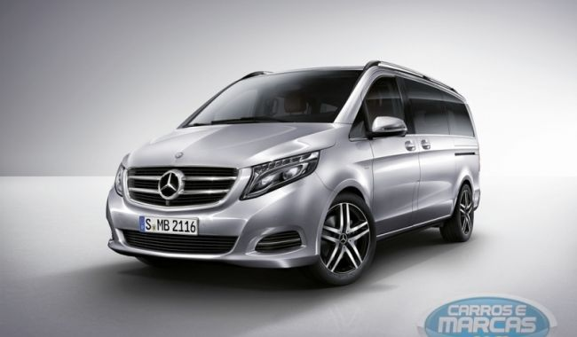 Nova Van da Mercedes-Benz. Fotos de divulgação