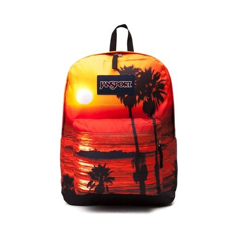 Shop for JanSport High Stakes Laguna Beach Backpack, Orange, at ...