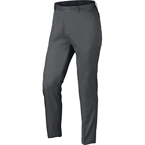 922143c2d361 Nike 2017 Flat Front Mens Golf Pants Dark Grey 3430    Check out the image