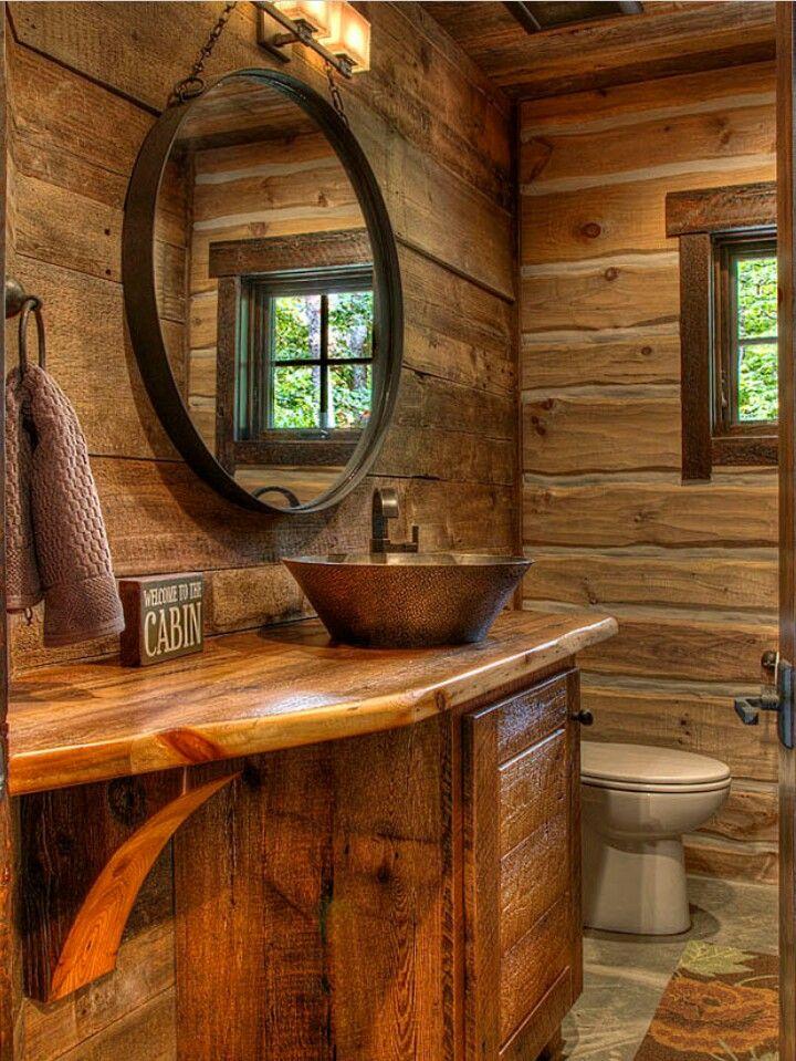 Pin de Cute Bathroom Designs en Rustic Bathrooms Pinterest