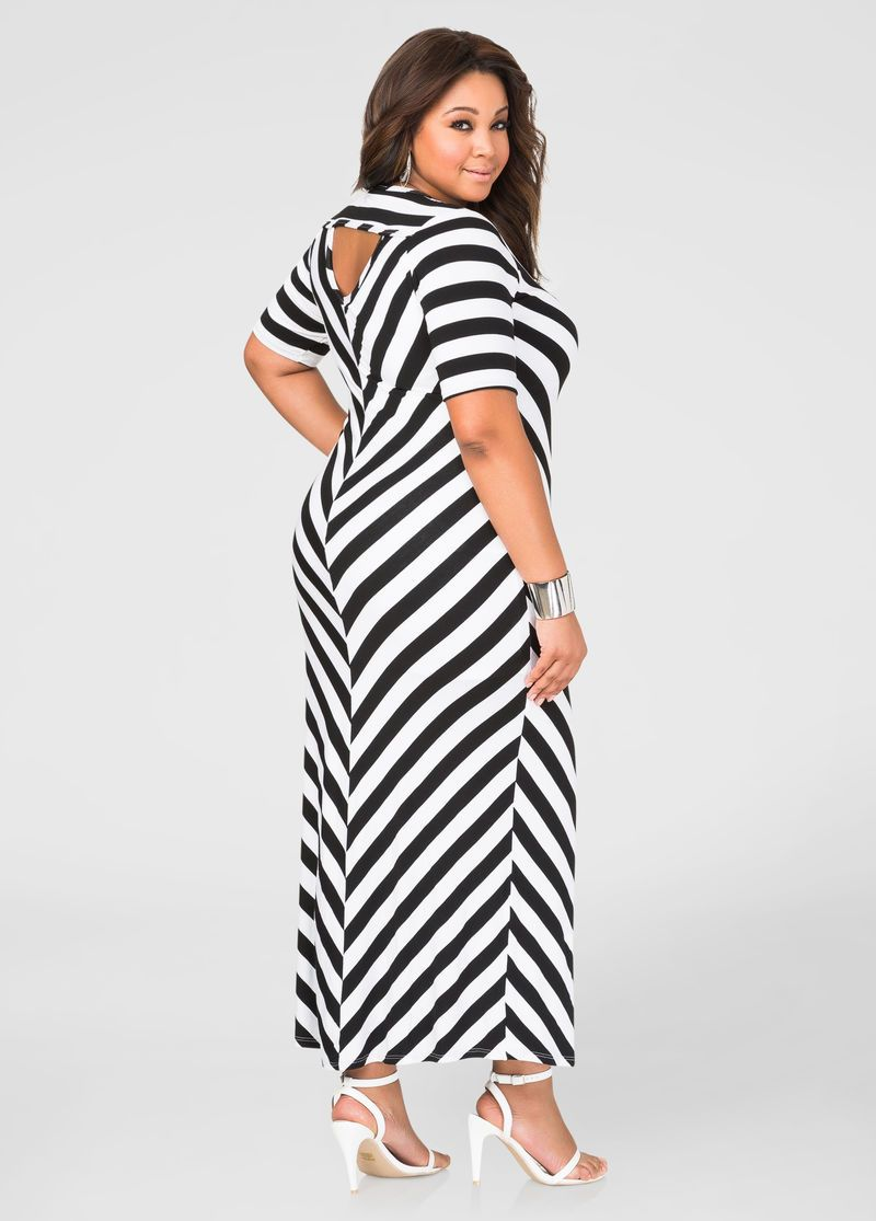 Chevron T Shirt Maxi Dress Chevron T Shirt Maxi Dress Chic And