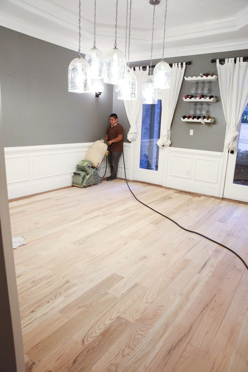 How we refinished our hardwood floors diy ideas for the home