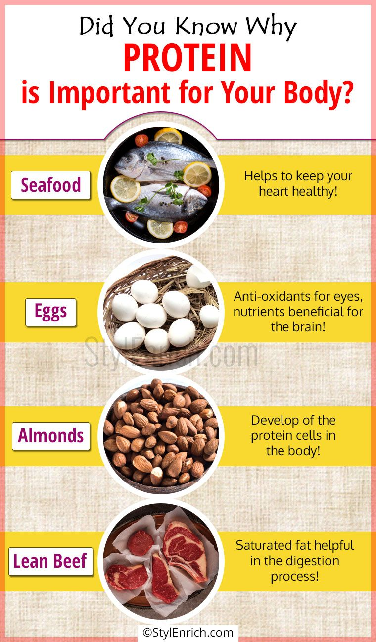 Why is protein important for my child?