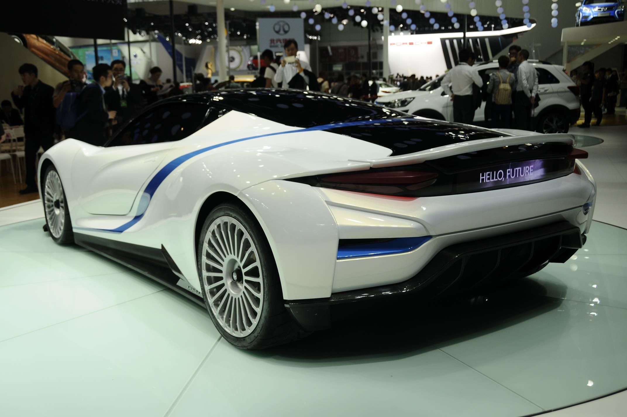 Top 10 Concept Cars At Beijing Auto Show 2016 Gtspirit Sports Car Super Cars Sports Cars Bugatti