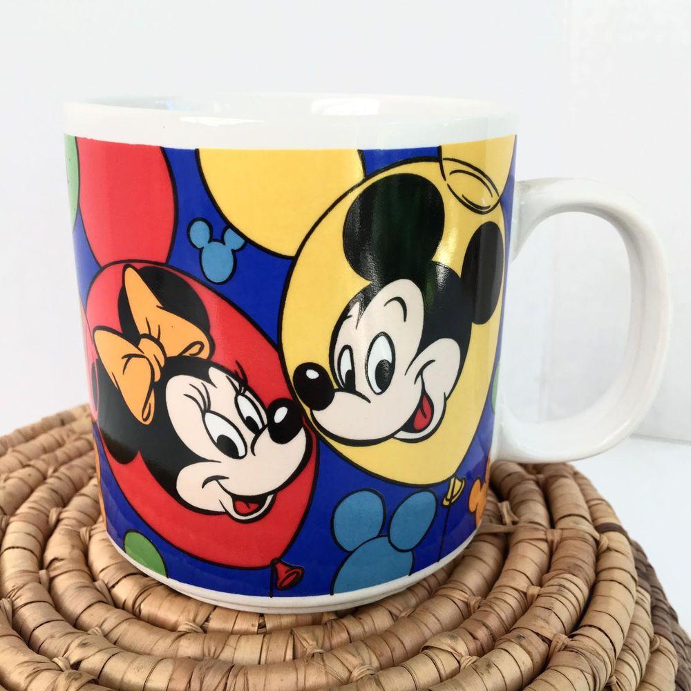 Disney Coffee Cup Donald Duck Color Contrast Mug