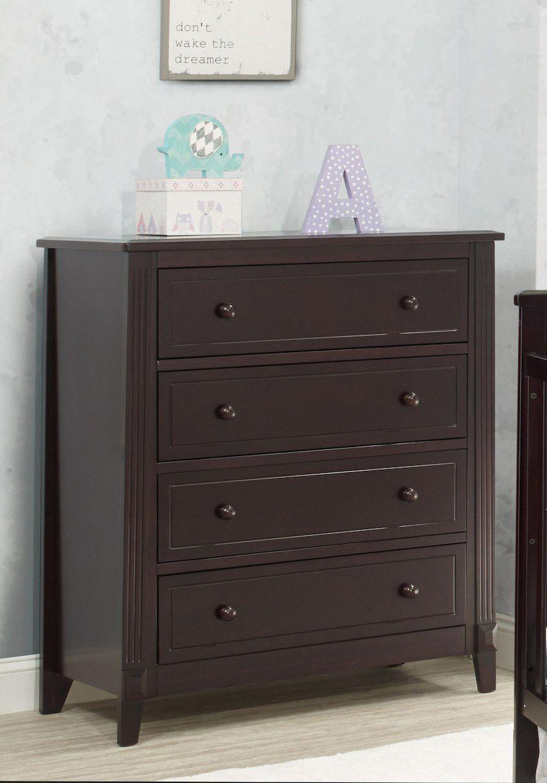Sorelle Berkley 4 Drawer Dresser Rta