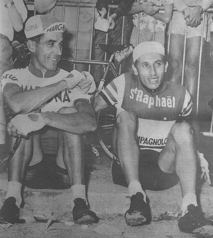 Bahamontes y Anquetil