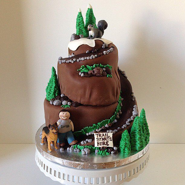 Hiking Cake: 20+ Creative And Quirky Groom Cakes