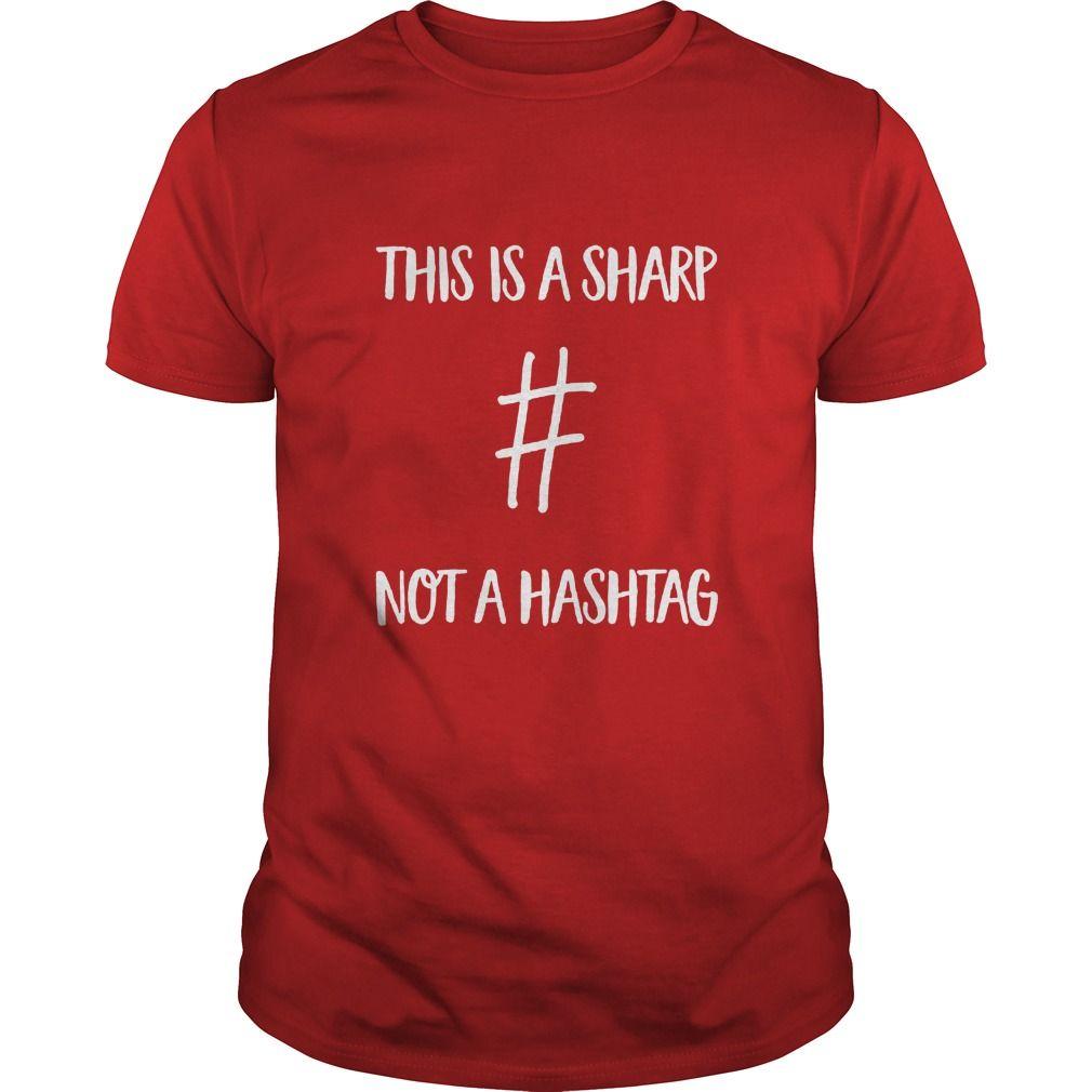 Musicteacherthis is a sharp not a hashtag gift ideas popular