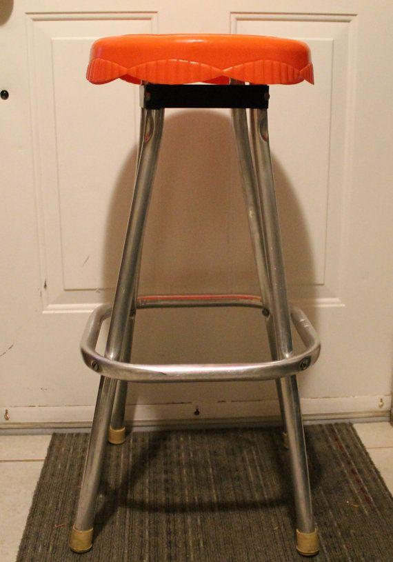 Prime Vintage Aluminum Kitchen Stool Snyder Of By Inzonedesignstudio Interior Chair Design Inzonedesignstudiocom