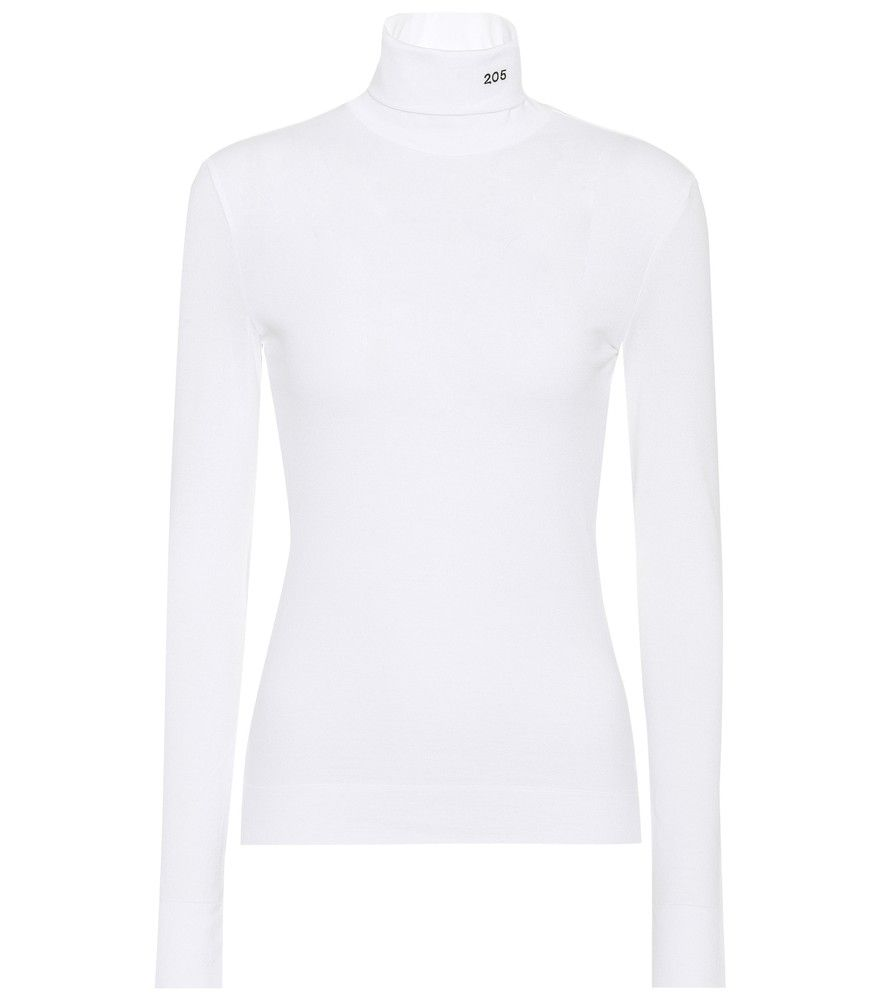 Calvin Klein 205W39NYC - Cotton turtleneck sweater - Raf Simons ...