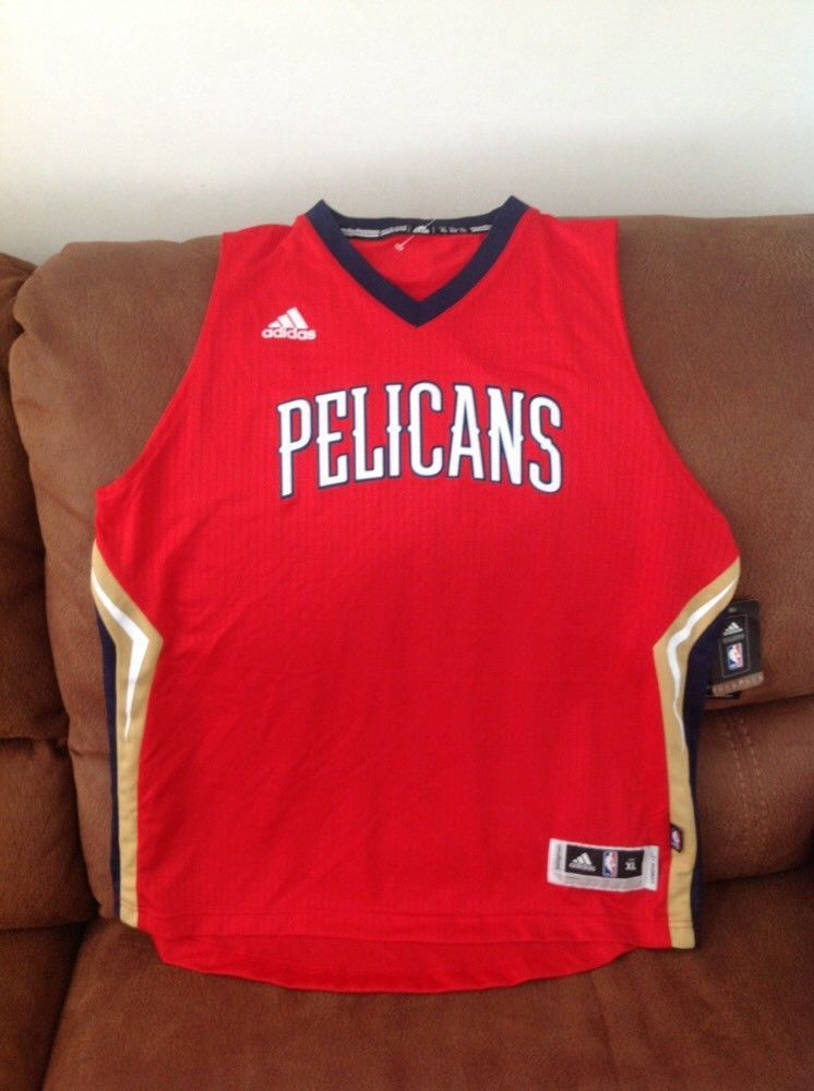 fdef06381ea new Orleans pelicans Adidas nba Alternante jersey NWT size XL Lenght + 2  youth
