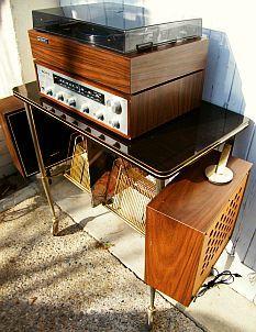 cha ne hifi sony 122 compl te sur meuble formica vintage le son pinterest. Black Bedroom Furniture Sets. Home Design Ideas