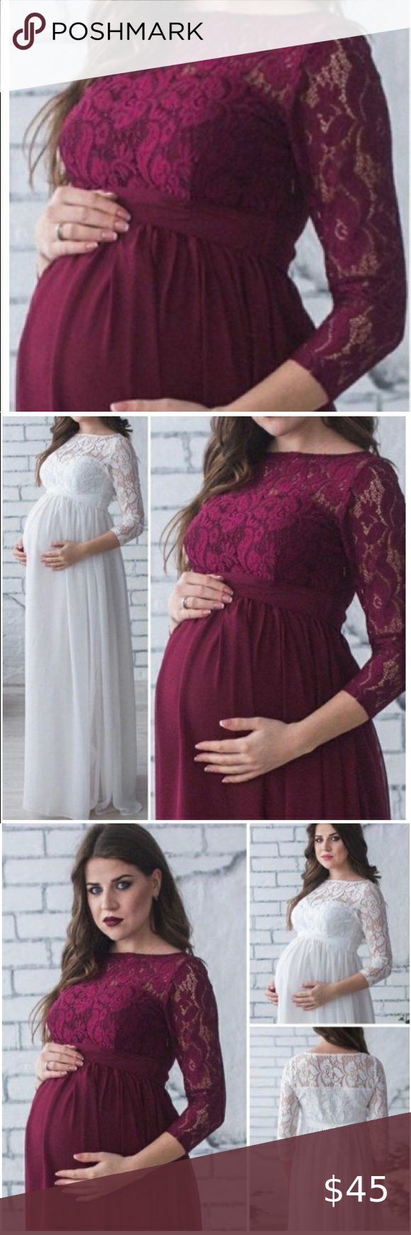 Photo of Maternity Photo Shoot/Gown Dress I wish this beautiful dress fit ☹️ But it i…