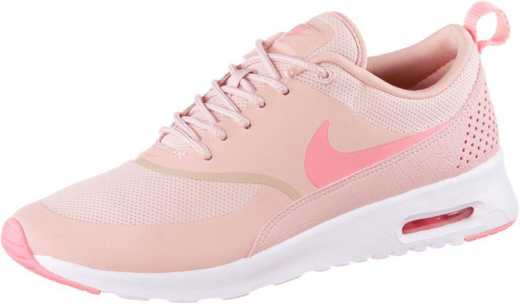 Nike Wmns Air Max Thea Sneaker Damen Rosa Schuhe Damen Sneaker Schuhe Damen Turnschuhe Damen