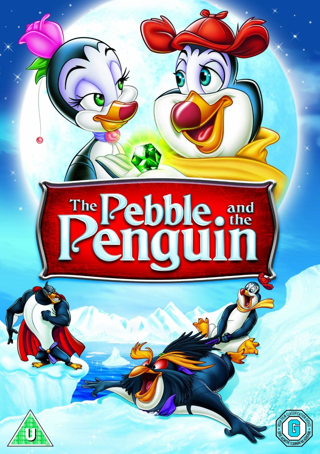 The Pebble And The Penguin (1995) Animated movie posters