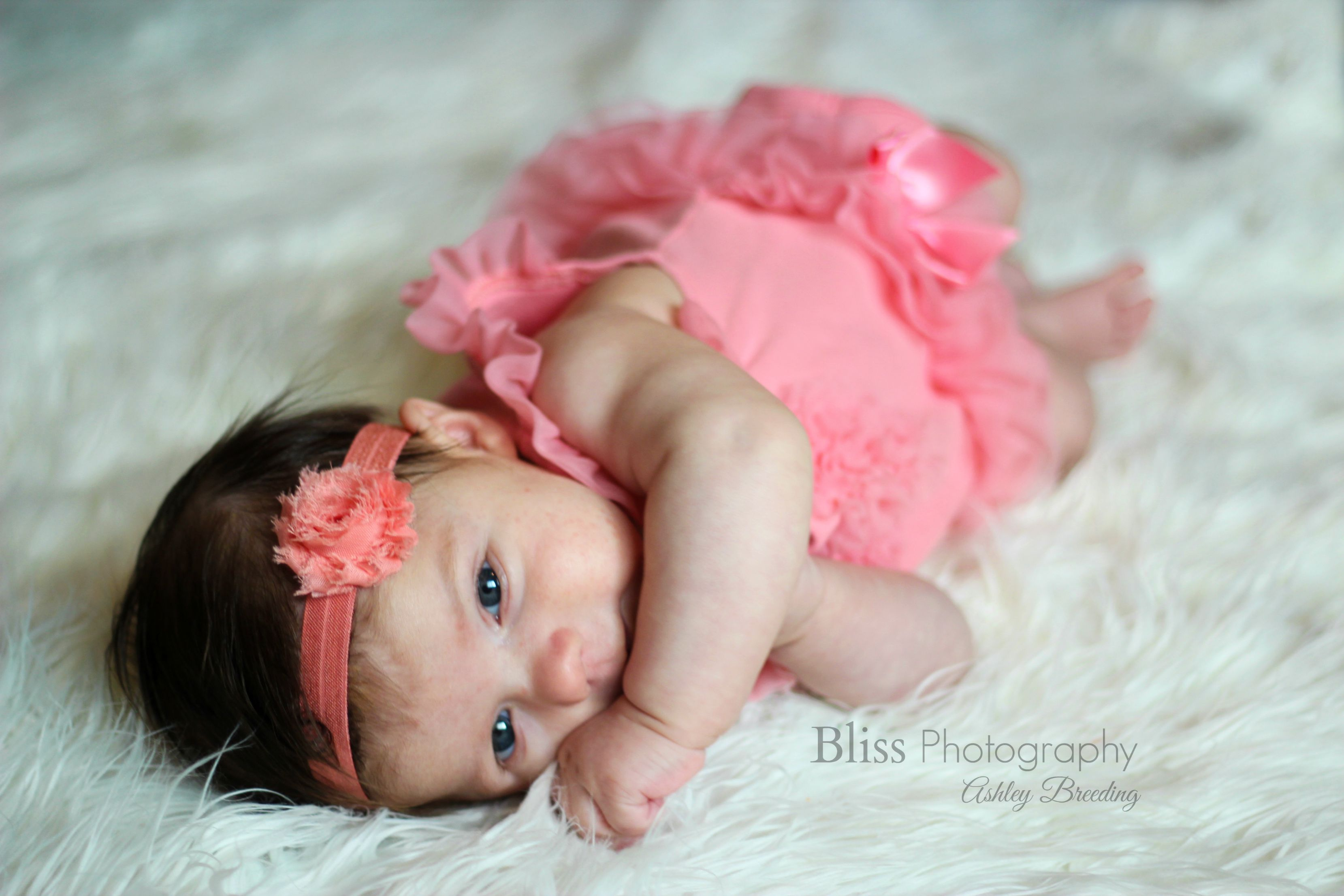 2 months old baby girl bliss photography bliss