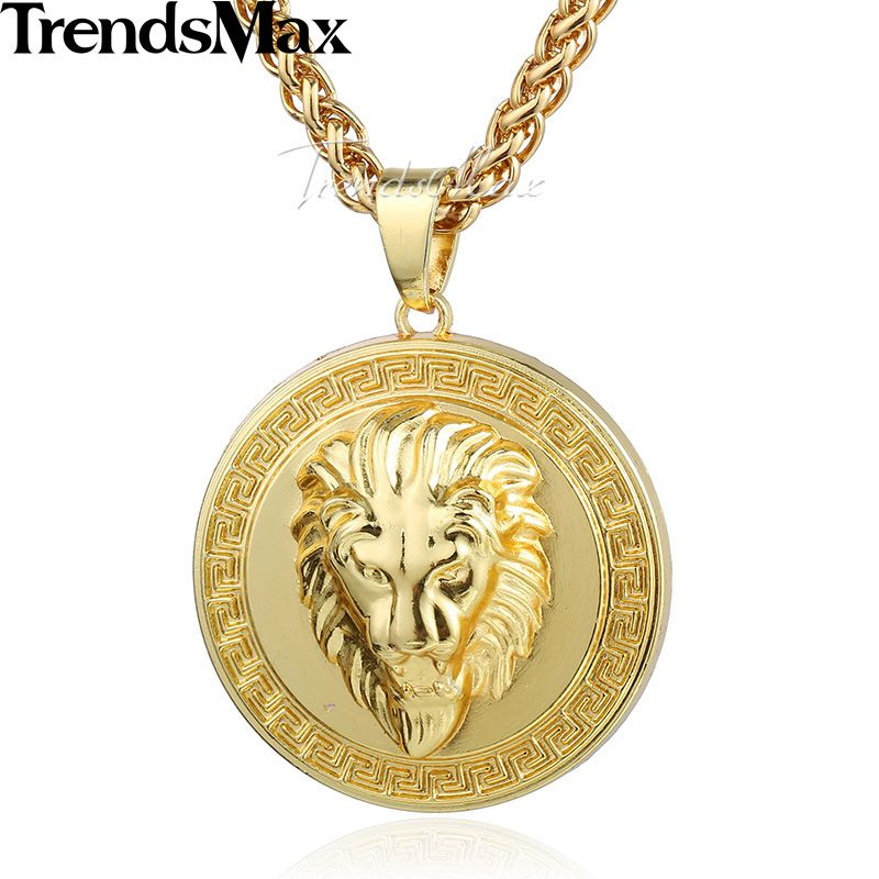 Pin By Madelain Roscher On Jewelry Gold Chains For Men Gold Pendent Round Pendant Necklace