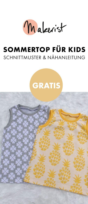 Photo of Top für Kinder nähen