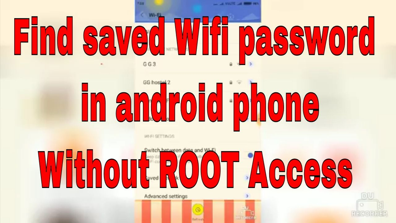 how to find wifi password on android mobile phone without