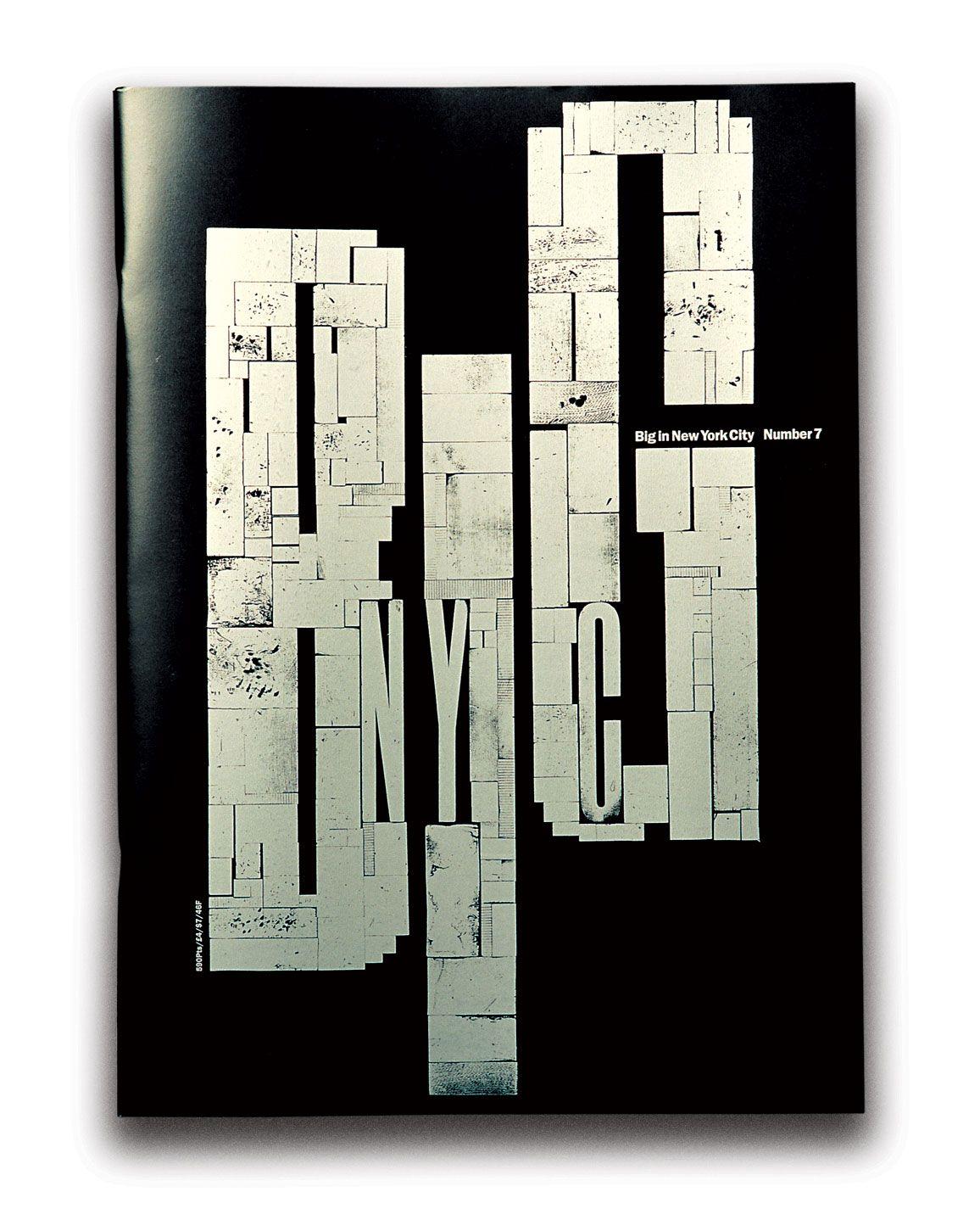 BIG issue 7 'New York' | Designer: Vince Frost