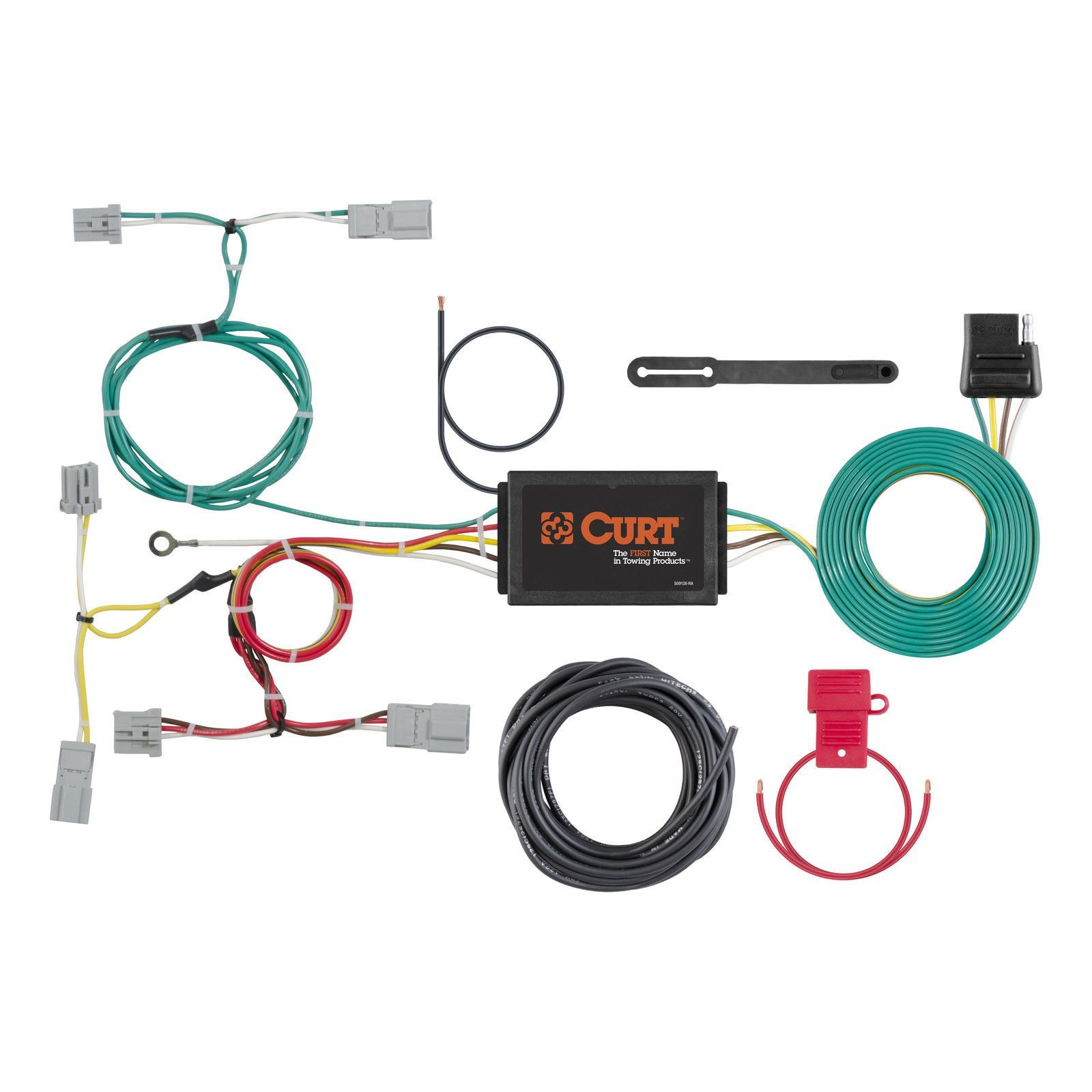 Enjoyable Curt Custom Vehicle To Trailer Wiring Harness 56310 For 2016 Mazda Wiring Cloud Hisonuggs Outletorg