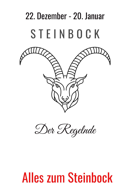 Sternzeichen Steinbock - Drang nach Regelung   Steinbock
